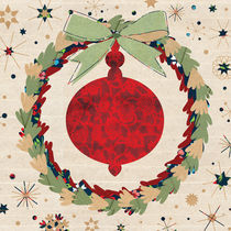 Christmas Ornament inside the Wreath by kata