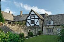 Stone Cottages in Broadway, Gloucestershire von Rod Johnson