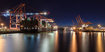 Hamburg - die Farben der Containerterminals von Moritz Wicklein