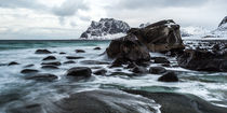 Lofoten, Uttakleiv - At the end von Moritz Wicklein