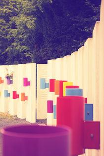 Bunte Säulen von Pascal Betke