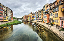 The Houses on the River Onyar (Girona, Catalonia) von Marc Garrido Clotet