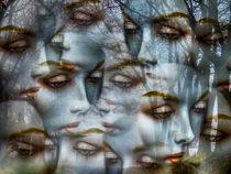 Faces in the autumn von Gabi Hampe