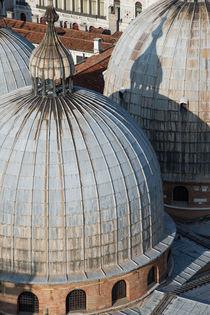 domes of cathedral in Venice von Barbara Brolsma