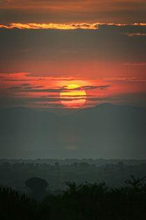 Sonnenuntergang in Uganda by Anja Heid
