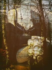 Sitting in the autumn von Gabi Hampe