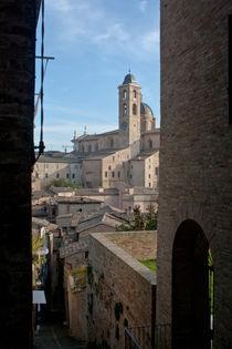 glimpse in Urbino von bruno paolo benedetti