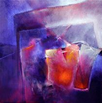 Blau und Orange by Annette Schmucker