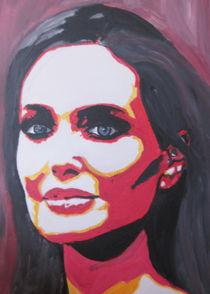 Portrait einer starken Frau von Klaus Engels