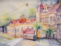 Straßenansicht Osijek von Dorothy Maurus