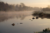 river sunrise by mark severn