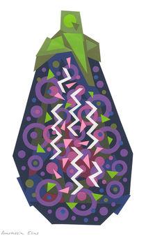 Eggplant (Aubergine) von Anastassia Elias