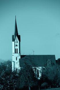 Die Kirche im Dorf von ann-foto