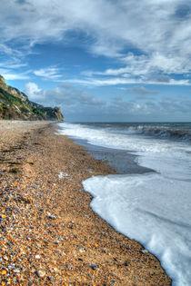 Branscombe Beach by David Tinsley