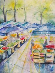 Markt in Osijek von Dorothy Maurus