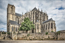 Cathedral of Saint Julian of Le Mans (France) von Marc Garrido Clotet