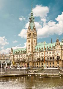 Rathaus in Hamburg von Peter Schenk