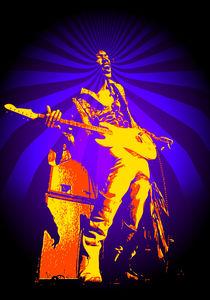 Purple Hazed Hendix by Mick Usher