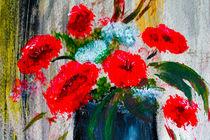 Red arrangement by Maria-Anna  Ziehr