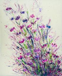 Flower-Fireworks - Blumen-Feuerwerk von Tania Konnerth