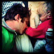 Mittagsschlaf im Zelt bei Paris von flo reichART