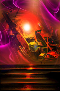 Sonnenuntergang 3 by Walter Zettl