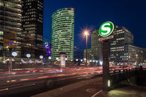 Potsdamer Platz in Berlin II by Moritz Wicklein