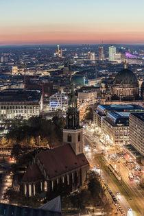 Die Marienkirche in Berlin von Moritz Wicklein