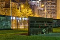 Berliner Mauer mit Gedenktafel der Mauertoten von Steffen Klemz