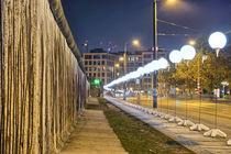 Berliner Mauer und Lichtgrenze by Steffen Klemz