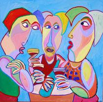 """Gemälde """"Guter Wein"""" - Painting """"Good wine"""" von Twan de Vos"""