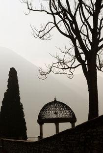 Gazebo at dusk by lsdpix