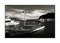 Harbour scene, Horta, Faial, azores by Brian Grady