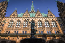 Hamburg Rathaus by Lars Niebling