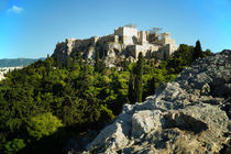 Akropolis von Athen by Sabine Radtke