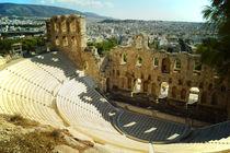 Akropolis, Odeon des Herodes Attikus von Sabine Radtke