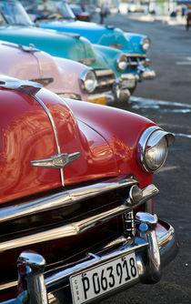 Chevrolet Convertibles, Havana, Cuba 1 von studio-octavio