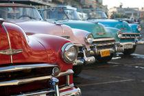 Chevrolet Convertibles, Havana, Cuba 2 von studio-octavio
