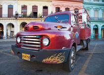Vintage 1948 Ford F1 truck, Havana, Cuba von studio-octavio