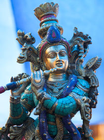 Brass Shiva statue, Ladakh von studio-octavio