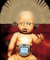 Cyber Baby D1 by studio-octavio