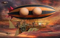 Stampunk Airship B2 von studio-octavio