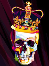 Skull Pop Art Contemporary Digital Artist Conqr