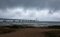 The Mackinac Bridge von John Bailey