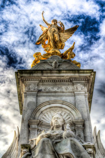 The Victoria Memorial London  von David Pyatt