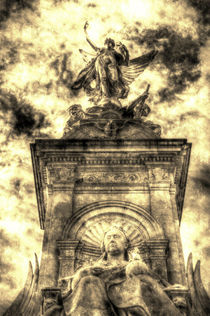 The Victoria Memorial London Vintage von David Pyatt