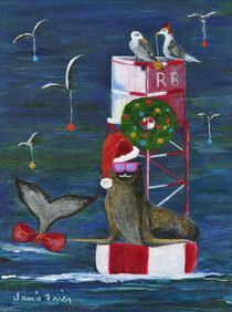 Christmas Seal and Friends von Jamie Frier