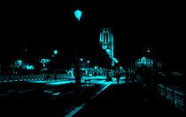 Notre Dame Night 1 by Joseph Borsi