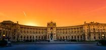 Hofburg orange von westlightart
