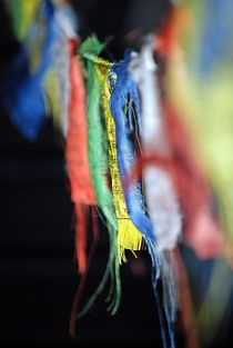 tibetische Fahnen 2 von loewenherz-artwork